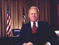 Gerald Ford / Gerald Ford (July 14, 1913 – December 26, 2006) an American politician who served as the 38th US President from 1974 to 1977, following the resignation of Richard Nixon. Prior to this he served eight months as the 40th Vice President of the United States, following the resignation of Spiro Agnew.