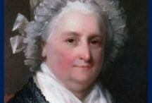 "Martha Washington / Martha Washington (Dandridge) (June 13 1731– May 22, 1802) was the wife of George Washington, the first president of the United States of America. Although the title was not coined until after her death, Martha Washington is considered to be the first First Lady of the United States. During her lifetime she was often referred to as ""Lady Washington""."