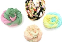 Scarves - Made by ME / womens scarves, linen scarves, handdyed scarves, infinity scarves, knit scarves, crochet scarves, cotton scarves, batik scarves, cool headbands, crochet headbands