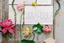 Wedding Invitations / Bellissime idee per le partecipazioni!