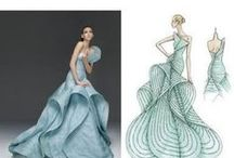 Beautiful Fashion Illustrations / From famous illustrators