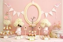 Sweet Sideboards (dessert tables) / Sweet treats on display. Cakes, cupcakes, candy and confections of all variety.