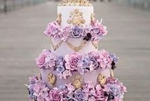 Lovely Lavender Cakes / Purple, lilac, lavender and all other shades of purple cakes.