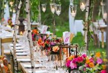 Gartenfest - Garden Party / Den Sommer draußen genießen und schöne Stunden mit Freunden verbringen.
