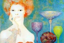 Leonor Fini / Beautiful paintings from a great artist