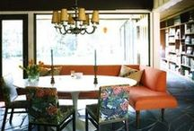 Dining nooks / On a quest to find the perfect dining nook....