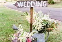 Gartenhochzeit - Garden Wedding / Den schönsten Tag im Leben draußen feiern. Mit ganz viel Blumen....