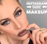Instagram Makeup Inspiration / Instagram Baddie or Bad Gal is a term given to the perfect Instagram makeup look.