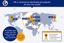 Visa Europe Infographics / Static and Video versions of the Visa Europe's most recent Infographics.