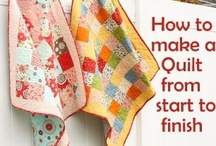 QUILTING 101 / FROM START TO FINISH , YOU WILL FIND EVERY SEWING TECNIQUE TO MAKE A BEAUTIFUL AND PROFESSIONAL SEWN QUILTING