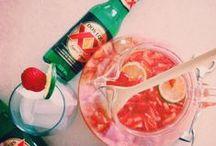 Cheers! / To the freakin' weekend!