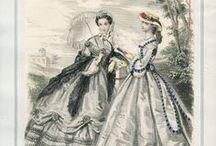 Viselettörténet/ II. Rokokó / 1850-1870