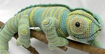 Crochety nature / crocheted animals, plants and other naturey stuff
