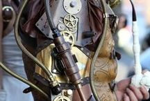 Vintage Steampunk Adornment / Steampunk Wearable Art from Vintage Timepieces