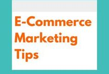 E-Commerce Marketing Tips / Digital Marketing tips and ideas to help you grow your E-Commerce Business from your website to your social media profiles and more.