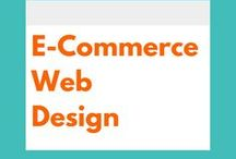 E-Commerce Web Design / Web design visual inspiration and practical advice for Shopify and other e-commerce websites.