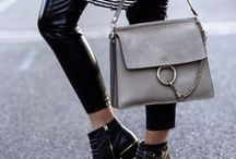 CHLOÉ BAGS & OUTFITS