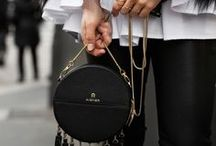 AIGNER BAGS & OUTFITS