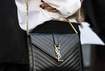 YVES SAINT LAURENT BAGS & OUTFITS