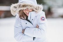 CANADA GOOSE JACKETS & OUTFITS