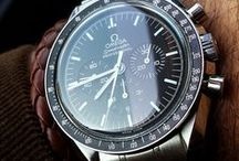 OMEGA WATCHES & OUTFITS