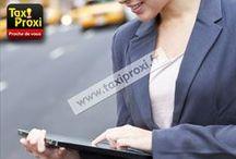 LES APPLICATIONS TAXI PROXI FRANCE / http://www.taxiproxi.fr/  Site web et site web mobile pour visualiser les taxis libres en temps réels.