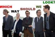 The Avengers  / Robert Downey Jr., Chris Hemsworth, Jeremy Renner, Mark Ruffalo, Tom Hiddleston, Scarlett Johansson, Chris Evans / by Sherloki Hiddlebatch