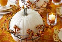 Inspiration - thanksgiving / An inspiration board for everything thanksgiving. From fool-proof turkey recipes, beautiful bundt cakes, autumnal flower arranging, pumpkin themed serverware and more!
