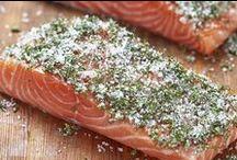 eten - vis en schaaldieren / diverse gerechten om te bereiden