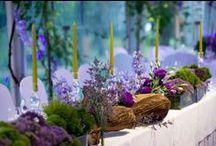 Italian Garden Wedding / #gardenwedding #violetgarden #gardenceremony #violetreception #magicgarden #violetwedding