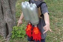 DIY kinderen / Zelfmaak ideeën om met kinderen te maken.
