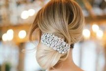 Sleek Bridal Updo's