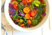 Recipes - Soup / Check out these tasty soups from heart warming chicken soup to chunky vegetable soup, noodle broth, gazpacho and more.