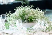 Natural Green & White Wedding Reception / #white&greenwedding #whiteflowers #gypsophila #andels #lodz #polandwedding #artsize #greenwedding #naturalwedding