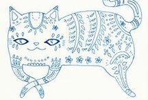 draw,sew,cook,make up,write,handicraft...