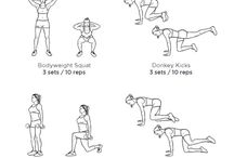 Fitness workouts / Different workouts