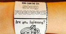 Monitoring Student Behaviour / Finding inspiration for creating my own student behaviour charts and checklists