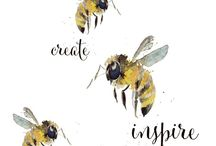 Beautiful Bees / ♥♥♥ re pinned by www.huttonandhutton.co.uk @HuttonandHutton #HuttonandHutton