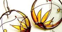 Nailpolish jewelry / jewelery made of wire and nail polish, ideas and tutorials