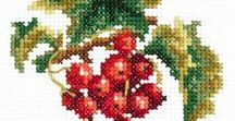 Embroidery: Cross stitch and Needlepoint