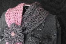 crochet / haken kleding/sjaals / by Jolanda Verschiere