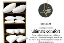 Bedding Essentials / Some call them basics, we call them essentials. Khas Bedding Essentials