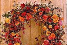 wreath / flower arrangment / by coro