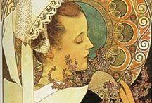 Art nouv. - Art   &  Prints / ca 1890 - 1910