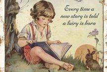 Books old - Tales, Children books...