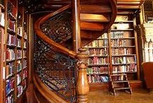 Books - Lib & Bookcases Old & New