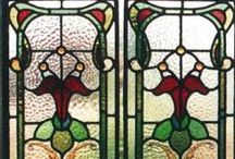 Art deco/Art nouv. - Stained glass