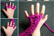 DIY & Insp. - Spool & Loom Knitting / Påtning