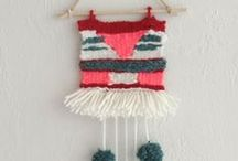 DIY & Insp. - Weaving / ....on & with simple tools....