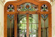 Art deco/Art nouv. - Doors